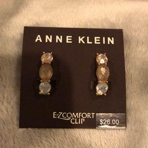 Anne Klein Clip On Earrings